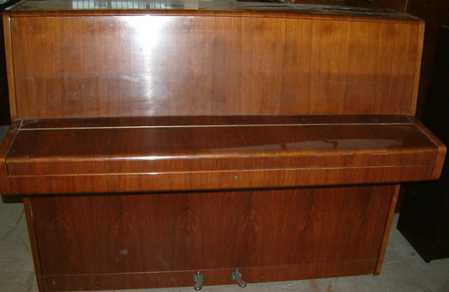 August Forster piano awaiting restoration.