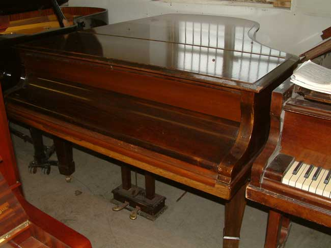Bluthner 6ft Antique Grand Piano In A Rosewood Satin Finish