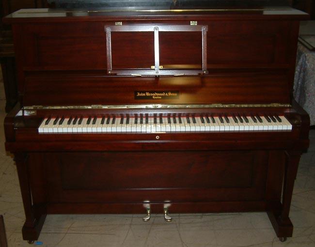 John Broadwood Overstrung Underdamper Upright Piano In A