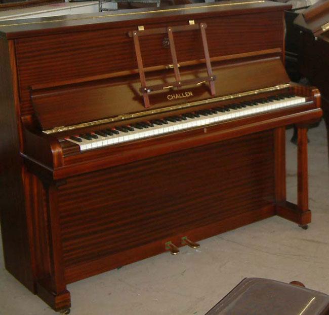 Challen Mahogany Traditional Upright Piano