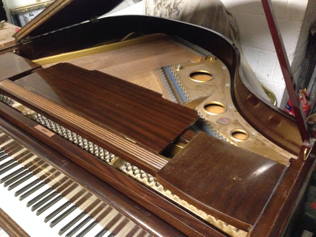 Chappell Baby grand piano frame.