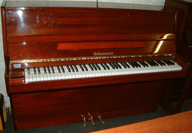 Schumann Modern Upright Piano For Rent Or Hire Purchase