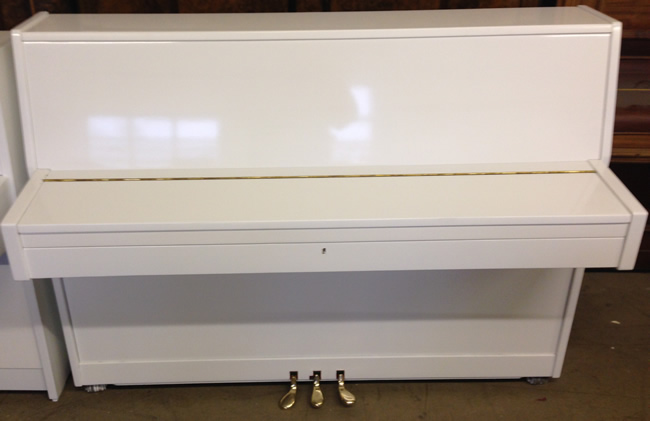 White small pianos
