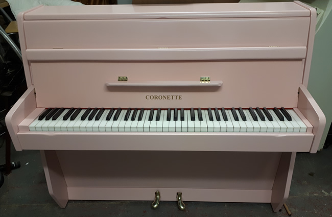 Coronette small six octave piano.