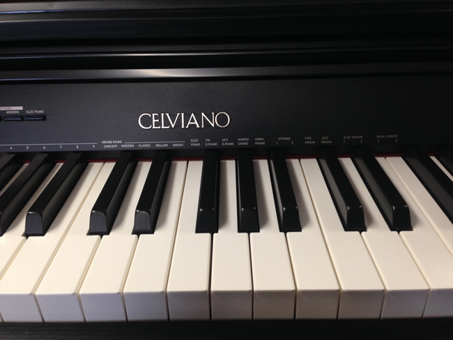 Celviano piano name.