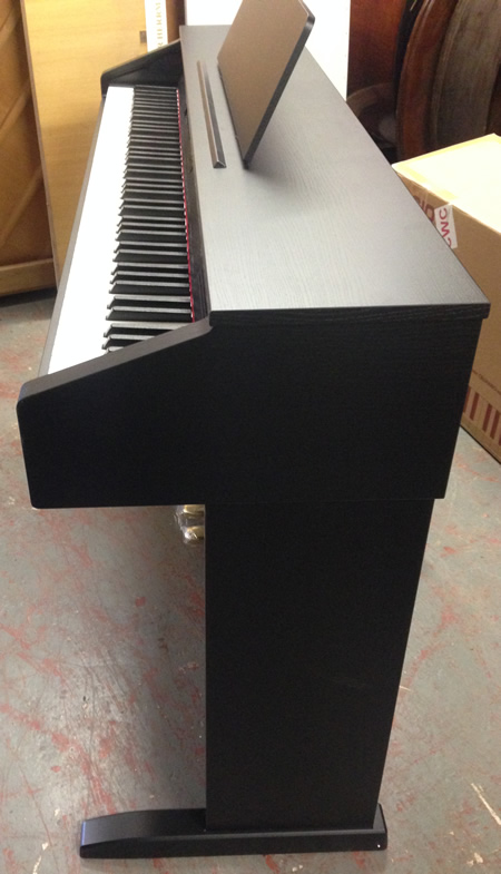 AP26 digital piano sideview.