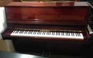 Harker Howarth upright pianos.