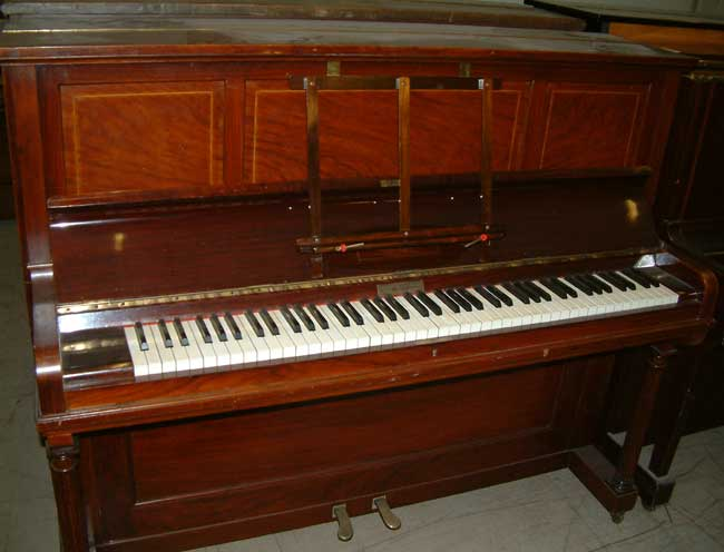 Traditional Hopkinson Second Hand Upright Piano In A