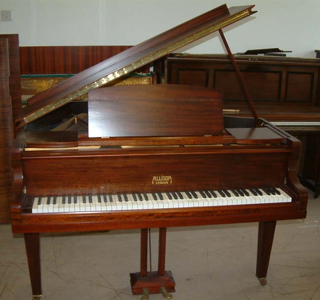 Allison english 4ft 6in baby grand piano to be restored for Baby grand piano height