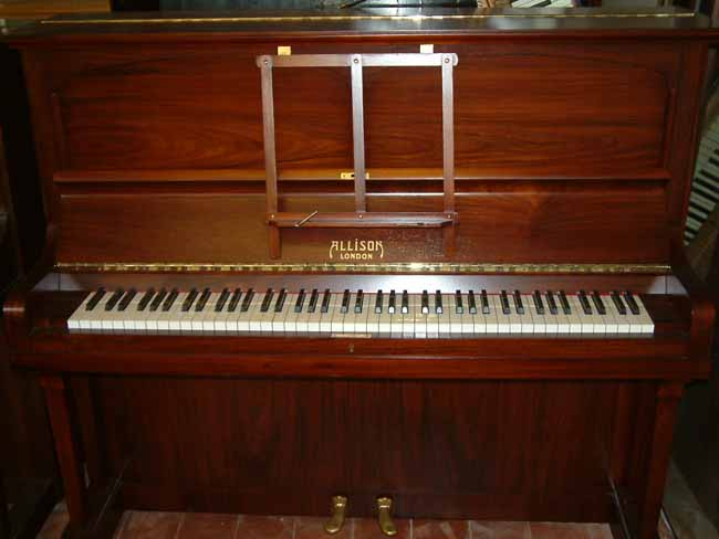 Allison Traditional Upright Piano In A Rosewood Cabinet