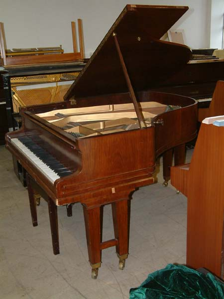 August Forster German Grand Piano In A Rosewood Cabinet