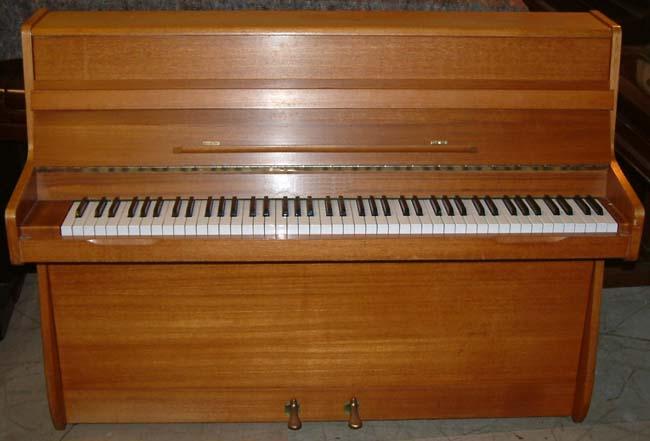 Barrett Amp Robinson Small Modern Teak Upright Piano