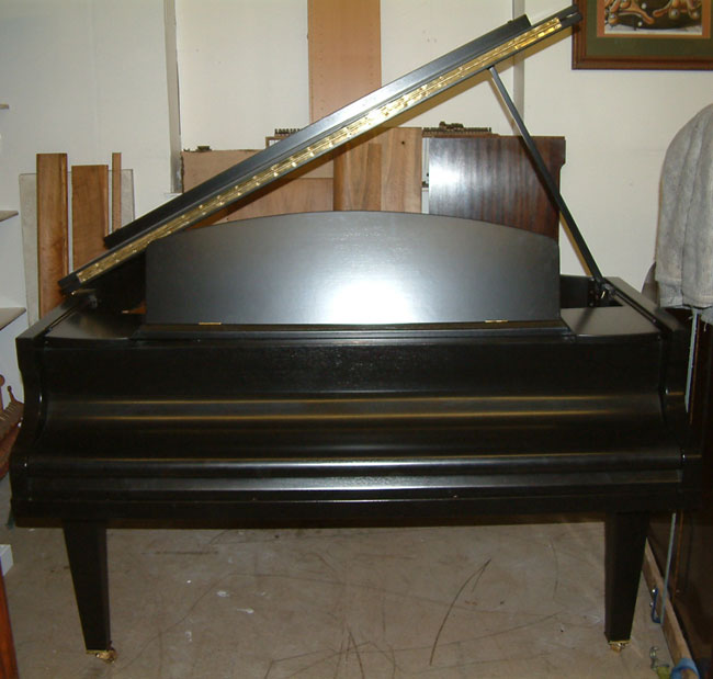 Challen Black Satin Grand Piano