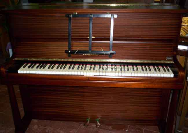 Used Upright pianos sale