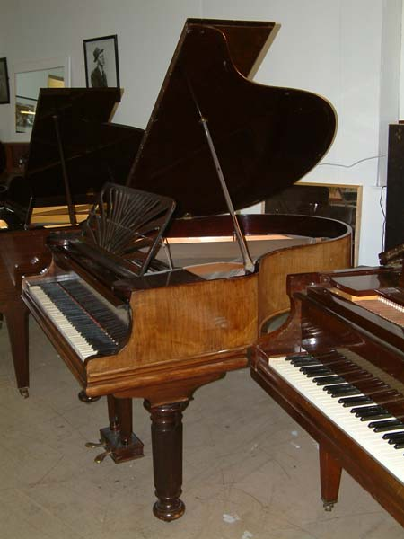 collard english 5ft grand piano in a steinway replica cabinet. Black Bedroom Furniture Sets. Home Design Ideas