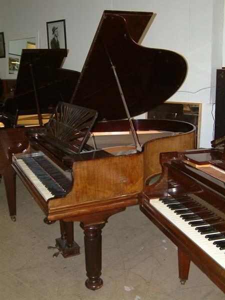 collard english 5ft grand piano in a steinway replica cabinet. Black Bedroom Furniture Sets. Home Design Ideas