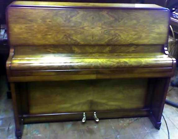 Walnut Piano After being repolished