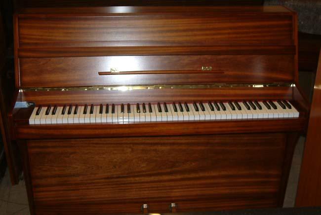John brinsmead small modern upright piano in a light for Piani domestici contempory
