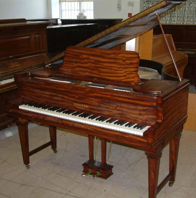 paregal pianos polishing portfolio rogers grand piano restrung and re polished. Black Bedroom Furniture Sets. Home Design Ideas