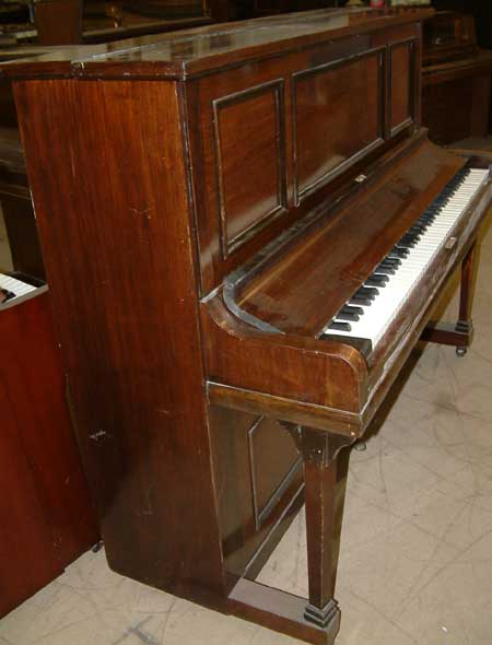 rogers pianos english 88 note traditional overstrung used upright rosewood. Black Bedroom Furniture Sets. Home Design Ideas