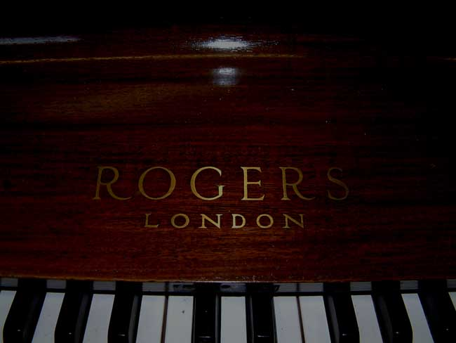 Rogers Brass Inlaid Name
