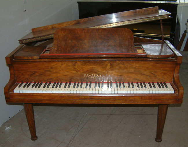 Walnut Rogers Baby Grand Pianos For Rent Available In A
