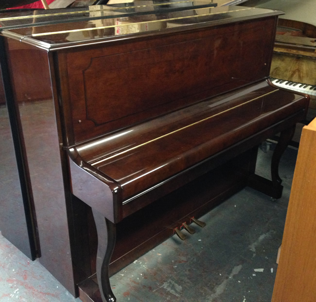 Dark Mahogany gloss pianos