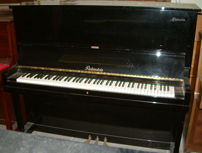 Japanese Rubinstein Upright Piano Available In A Black