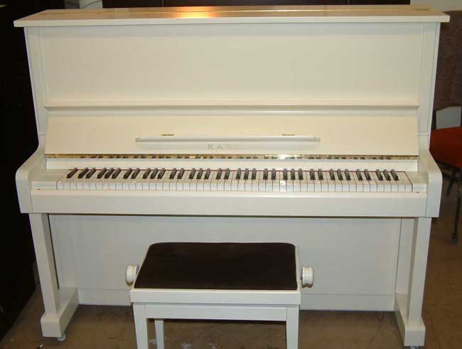 White kawai japanese upright pianos for sale for White yamaha piano