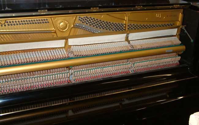 Yamaha u1 black gloss upright piano for sale for 1970 yamaha upright piano