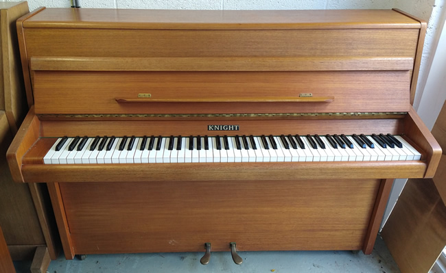 Knight piano to be restored and re-polished in a satin or gloss finish.
