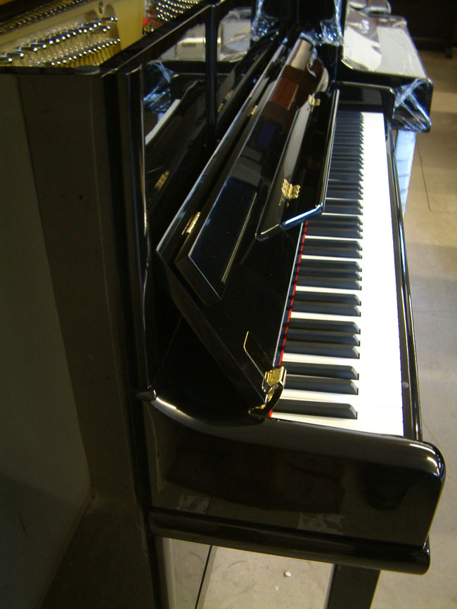 Sideview of Eisenstein piano