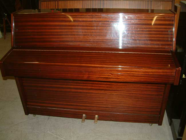 rogers english overstrung underdamper upright piano. Black Bedroom Furniture Sets. Home Design Ideas