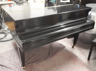 Baby grand pianos available for rental or hire purchase.