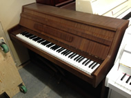 Weindorfer small upright piano.