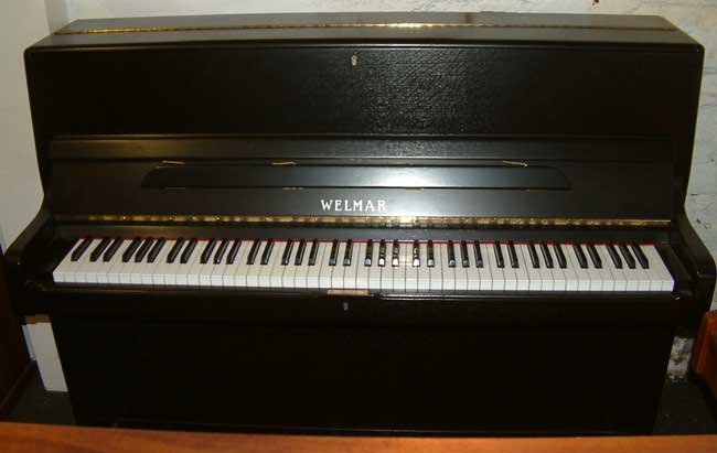 Welmar small modern pianos