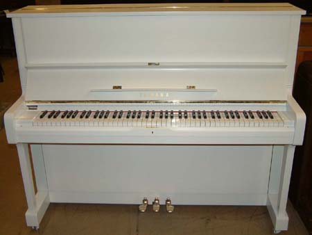 White pianos sale kawai yamaha used second hand upright uk for White yamaha piano