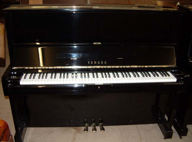 Yamaha Piano U1 1970 S Upright Restored In A Black High